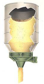 carman industries vibrating bin discharger eliminate ratholing