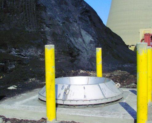 carman industries drawdown hopper for coal reclaim