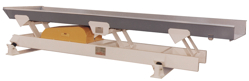 carman industries vibrating conveyor for bread crumbs