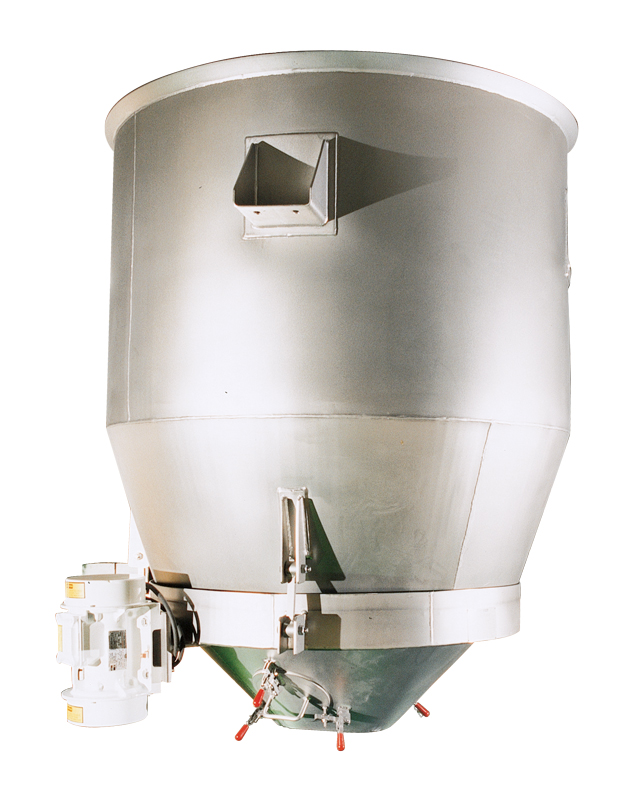 carman industries vibrating hopper for flour industry