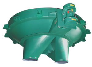 carman industries vibrating hopper with dual discharge