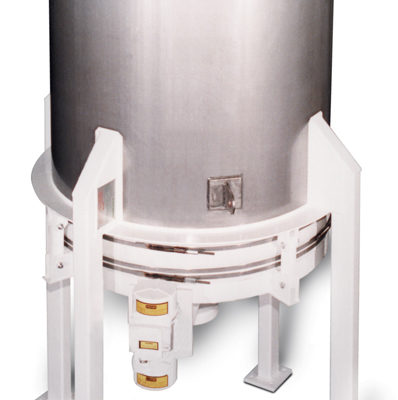 carman industries vibrating bin discharger for bakery