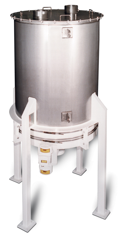 carman industries vibrating bin discharger for bakery