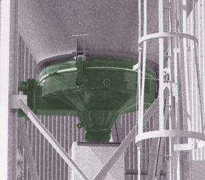 carman industries vibrating vibrating bin discharger