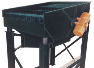 carman industries vibrating grizzly feeder