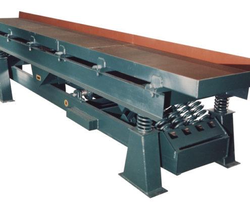 carman industries vibrating conveyor for food industry