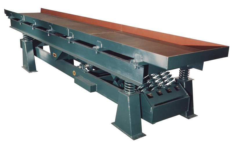 carman industries vibrating conveyor for food industry