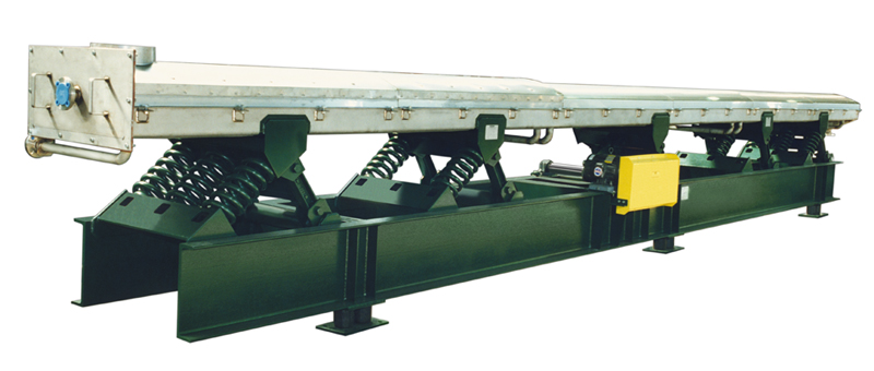 carman industries vibrating conveyor water-cooled