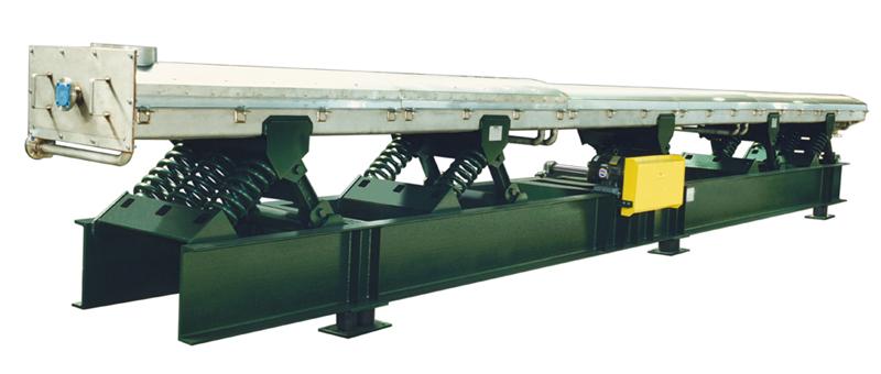 carman industries vibrating conveyor water-cooled