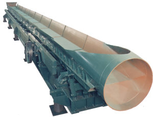 carman industries vibrating conveyor for foundry industry