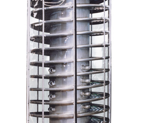 carman industries spiral elevator for rubber industry