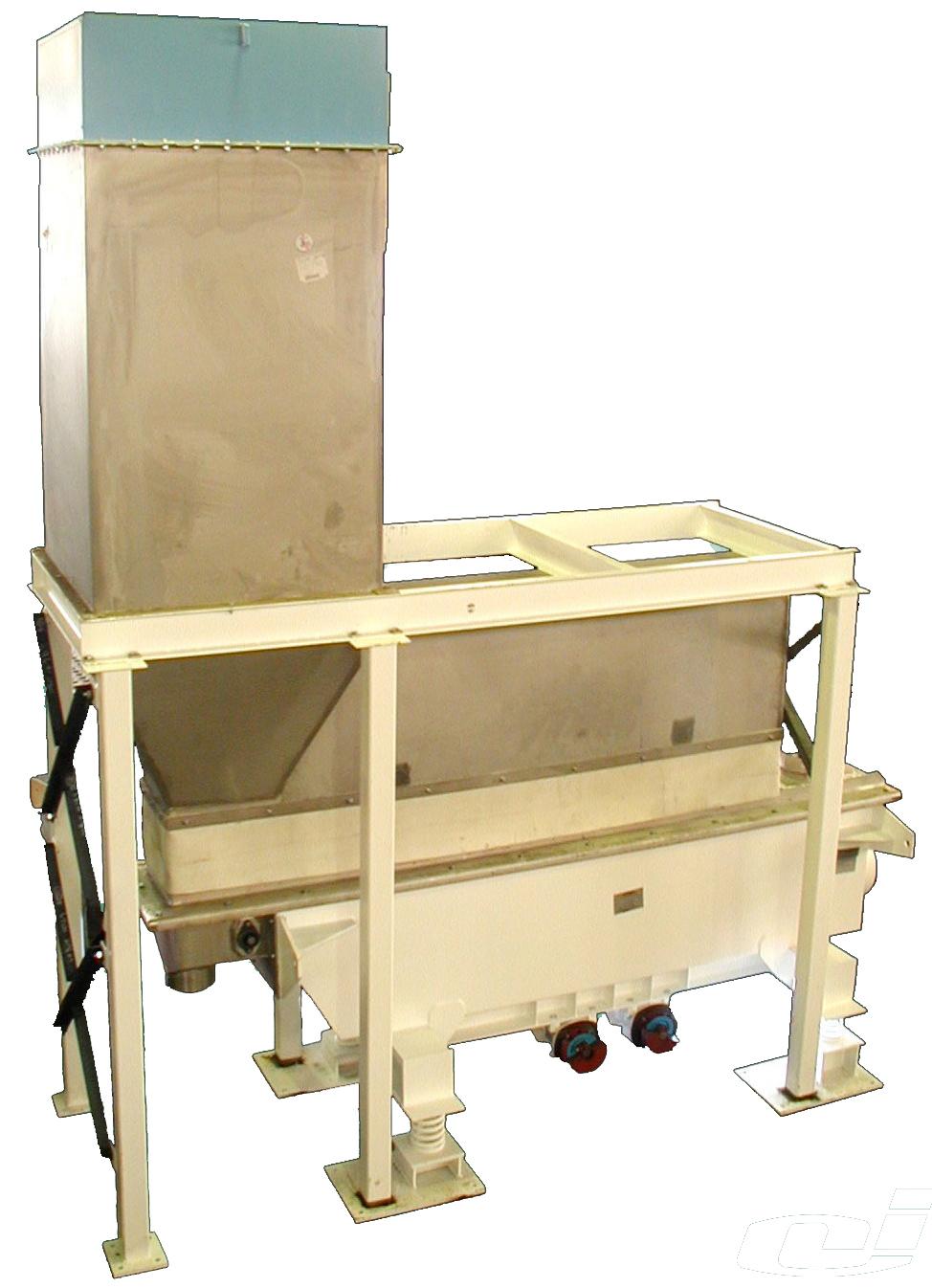 carman industries vibrating fluid bed cooler