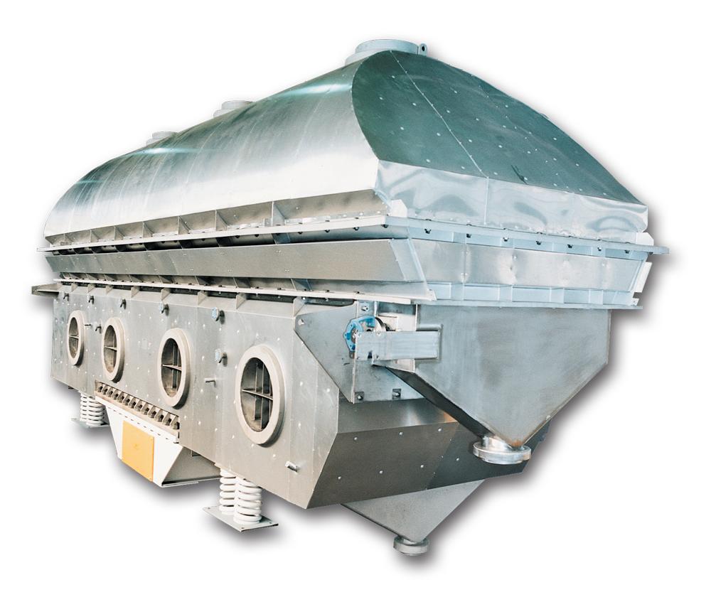 carman industries vibrating fluid bed processor