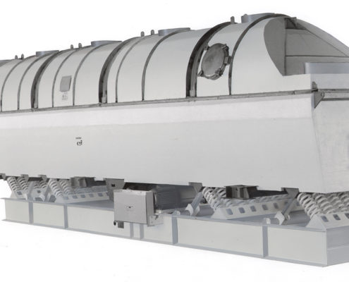 carman industries vibrating fluid bed dryer