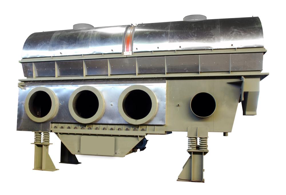 carman industries vibrating fluid bed sand dryer cooler